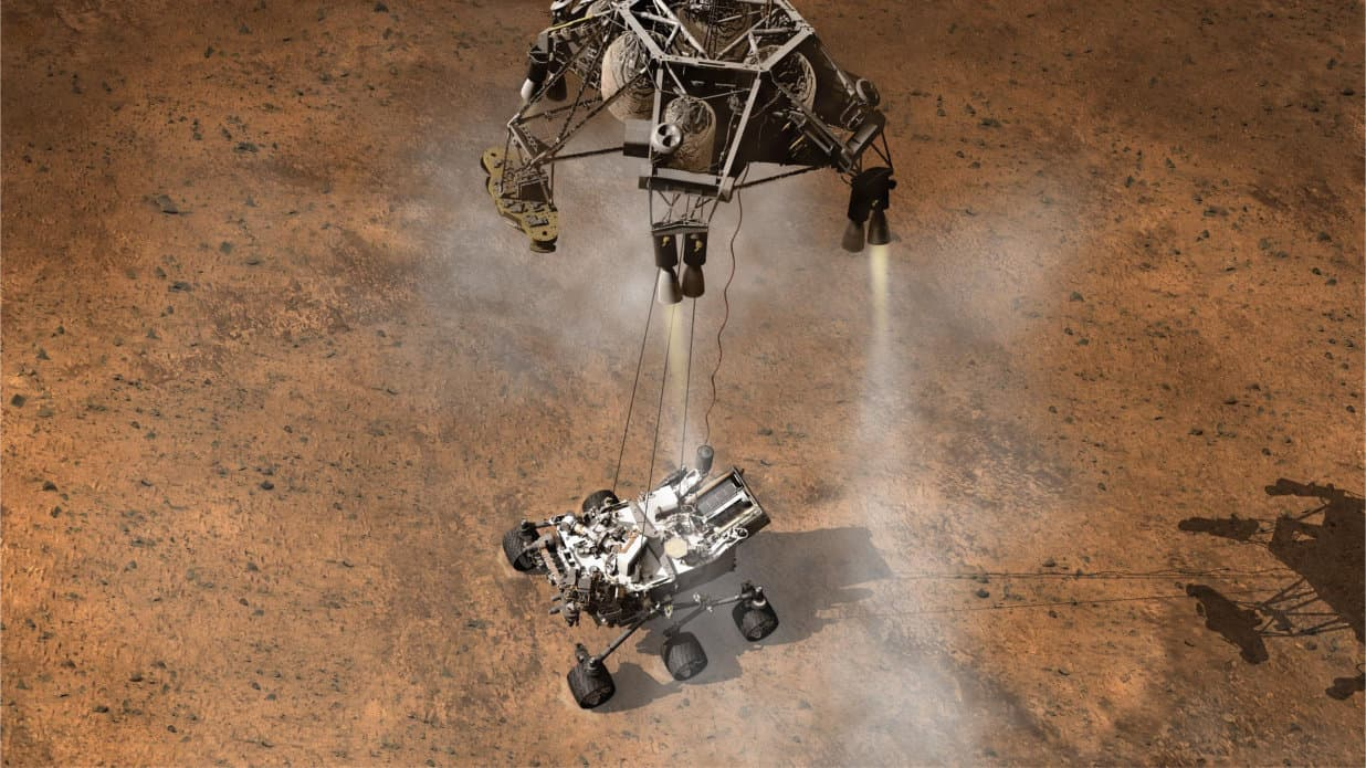 Photo of 1 المركبة كيوريوسيتي والبحث عن الحياة على المريخ
